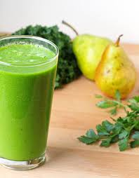 green smoothie pear